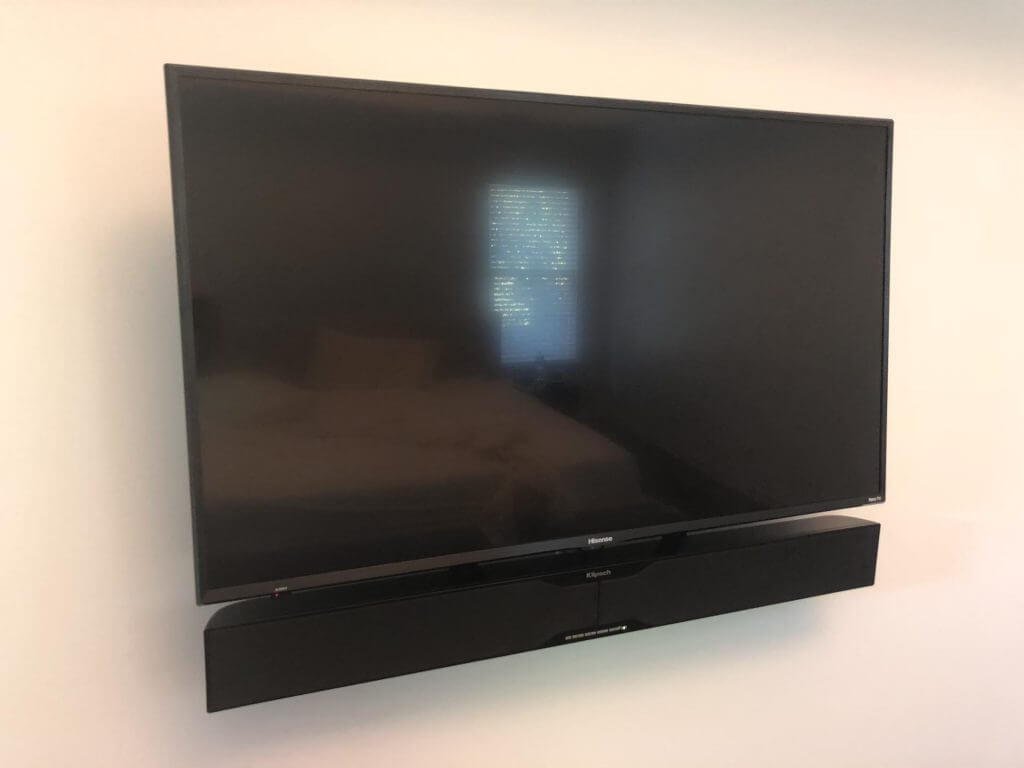 48 inch TV Wall Mount with soundbar